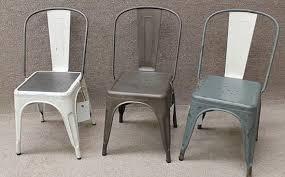 pressed metal furniture. Metal Tolix Chairs Pressed Furniture U