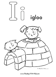 Small Picture igloo coloring pic Alphabet Coloring Pages Alphabet