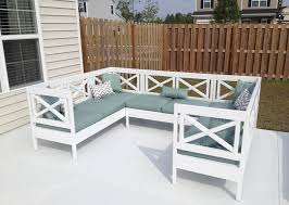 wood outdoor sectional. Fine Sectional Diy Outdoor Sectional Couch Intended Wood O
