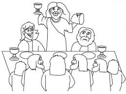 Small Picture Download Coloring Pages Last Supper Coloring Page Last Supper