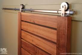 interior barn door hardware. Brushed Nickel Interior Nice Barn Door Diy Track Hardware O