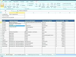 Excel Financial Statement Financial Statement Analysis Example Report Excel Five
