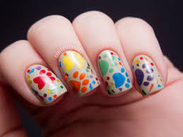 Chowder's 5th Birthday! | Chalkboard Nails | Nail Art Blog