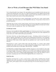 extremely creative how to create a great resume a great resume   how to create a great resume