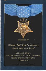 In Honor of Master Chief Britt K Slabinski: United States Navy ...