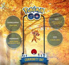 Pokemon Go Chimchar Community Day Guide Start Time Shiny