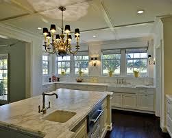 traditional kitchen brass chandelier