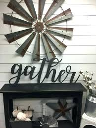 extra large vintage metal letters for wall decor sticker designs leaf giant