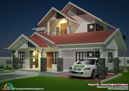 How Do You Get More Diamonds On Home Design Modern Sloping Roof 4 Bedroom Home Kerala Home Design