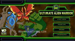 ben 10 ultimate alien warrior play