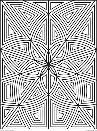 Design Patterns To Color Color Pages Simpleometric Pattern Coloring Pages For Kids