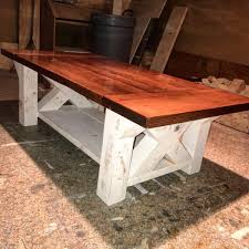 farm house coffee table plan chunky farmhouse coffee tablephoto credit logan diy farmhouse coffee table love