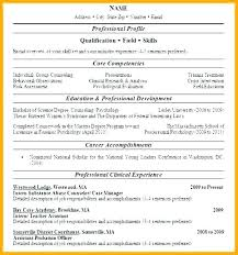 One Page Resume Example Custom 288 Page Resume Example 28 Page Resume Examples One Page Resume