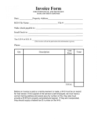 Employee Invoice Template Free Self Employed Cleaner Invoice Template Readleaf Document