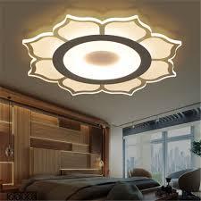 Led Ceiling Lights For Living Room Modern Flower Acrylic Led Ceiling Light Living Room Bedroom