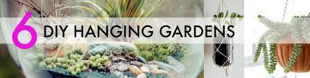 indoor gardening ideas. 6 Creative Hanging Gardens That You Can Make Yourself Indoor Gardening Ideas