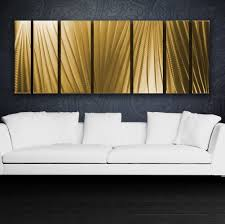 Small Picture Metal Wall Art Gold Painting Sculpture Home Decor Indoor Outdoor