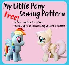 Free Plushie Patterns Unique MLP Free Sewing Pattern By FirenFluff On DeviantArt