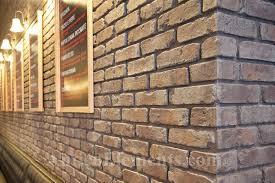 reclaimed brick look