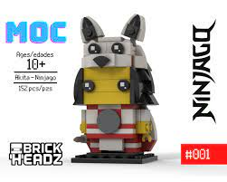 LEGO MOC Akita the Formling - Brickheadz by B4TheBrick | Rebrickable -  Build with LEGO