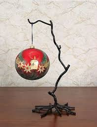 Wrought Iron Ornament Display Stand Impressive Display Your Favorite Holiday Ornaments In Style Austin Homes