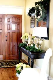 entry table decorations. Christmas Entryway Decorating Ideas - Style Estate Entry Table Decorations R
