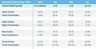 Gk Size Chart Gk Size Chart