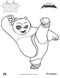 Small Picture 13 printable kung fu panda coloring pages Print Color Craft