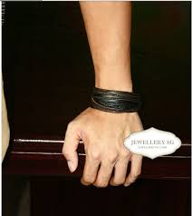 picture of how to make leather bracelets for men