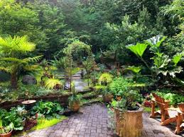 sloping gardens design ideas and