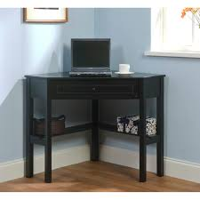 maximize your space with this black finished corner computer desk this computer desk includes