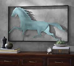 on wall art pictures of horses with running horse wall art pottery barn