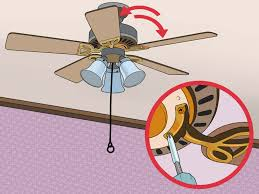 How To Replace The Light Chain On A Ceiling Fan 3 Ways To Fix A Wobbling Ceiling Fan Wikihow