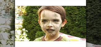 how to create a scary green zombie look for a little kid for makeup wonderhowto