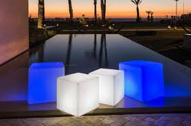 now cube bluetooth sharp l led indoor outdoor lamp by smart green
