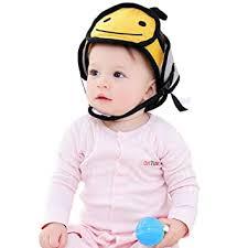 Per <b>Baby Head</b> Protector Helmet Breathable Safety <b>Head</b> Guard ...