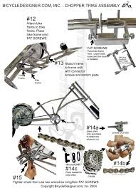 bicycle parts trike parts