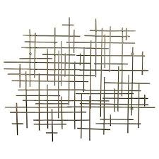 inspiration for an afternoon diy wall art project for a fraction of the cost mid century metal wall d cor gold 36x30 threshold target on target gold metal wall art with inspiration for an afternoon diy wall art project for a fraction of