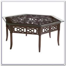 end tables hexagon patio table replacement glass patios home design ideas picture on amusing hampton