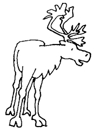Small Picture Caribou coloring page Animals Town Free Caribou color sheet
