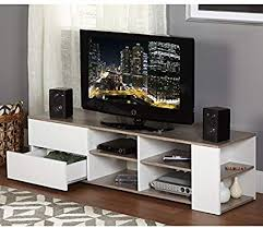Modern Tv Stands For Flat Screens White Entertainment Media Console Wood 60  Inch Modern Tv Stands Flat Screens Amazoncom46