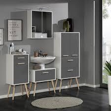 Badezimmer Klein Modern Grau