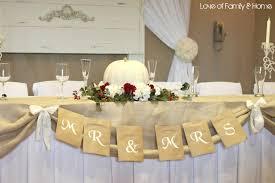 diy wedding word banners