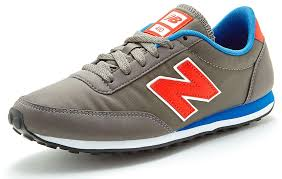 new balance u410. new balance 410 classic trainers in grey \u0026 red u410 grb