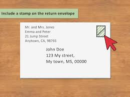 Envelope Format 3 Ways To Address An Envelope To A Family Wikihow