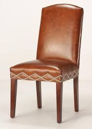somerset leather dining chair