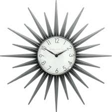 mid century clock  ebay