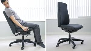 ikea volmar office chair like a rock an expensive but comfortable rock you