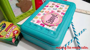 Decorate Pencil Box Back to School DIY Pencil Boxes 2