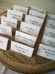 35 best mariage thème sable images on pinterest marriage, beach Beach Themed Wedding Place Cards beach themed wedding with places cards on silver trays of sand www amynixon beach themed place cards for wedding